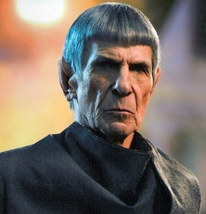 Mr. Spock: The symbol for logic and reason.